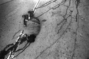 This image depicts one the people slain in the Chiapas rebellion. It is relevant insofar as it was largely this event that sparked the scorn of numerous Non-Governmental Organizations and other international institutions. Such international bodies were able to exert pressure on Mexico to initiate human rights policy, and condemn their policies that meet international human rights standards