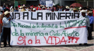 """No to mining, yes to life!!!"""