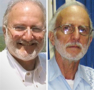 Alan Gross before and during detainment in Villa Marista prison.